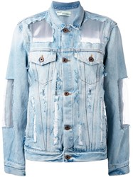 Off White Denim Jacket Blue
