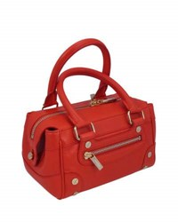 Chopard Baby Caroline Square Bag Coral Red