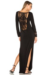 Indah Champagne Dress Black