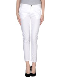 Tombolini Trousers Casual Trousers Women White