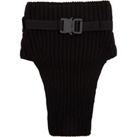1017 Alyx 9Sm Black Wool Neck Warmer