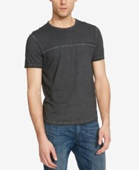 Kenneth Cole Reaction Men's Graphic Print Logo T Shirt Steel Grey
