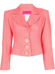 Christian Lacroix Vintage Cropped Jacket Pink And Purple