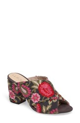 Sole Society 'S Luella Flower Embroidered Slide
