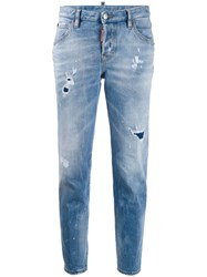 Dsquared2 Distressed Tapered Jeans 60