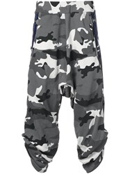 Mostly Heard Rarely Seen Camouflage Crank Trousers Grey