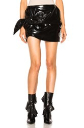 Marques ' Almeida Knotted Mini Skirt In Black
