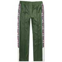 Champion Reverse Weave Popper Taped Track Pant Green