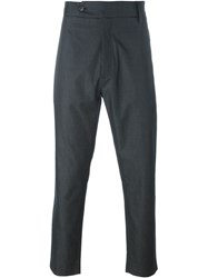 Societe Anonyme 'Deep George' Straight Leg Trousers Black