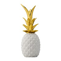 Bloomingville Decorative Pineapple Ornament White