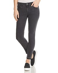 Parker Smith Kam Cropped Released Hem Skinny Jeans In Griffin
