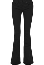 Victoria Beckham Mid Rise Flared Jeans