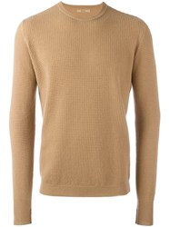 Nuur Crew Neck Jumper Nude Neutrals