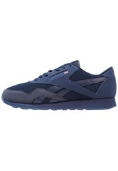 Reebok Classic Cl Nylon Tech Mix Trainers Navy Dark Royal Dark Blue