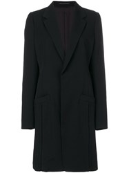Y's Single Breasted Coat Cupro Wool
