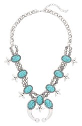 Cara Western Necklace Turquoise