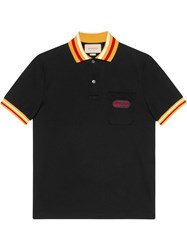 Gucci Polo With Patch Black
