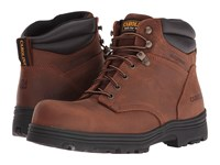Carolina 6 Waterproof Steel Toe Work Boot Copper Crazyhorse Men's Work Boots Brown