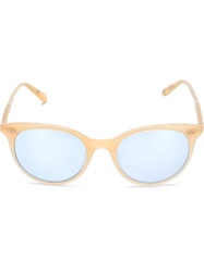 Garrett Leight 'Dillon' Sunglasses White