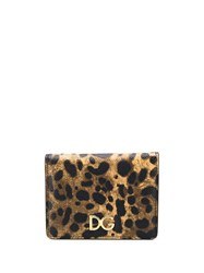 Dolce And Gabbana Small Continental Wallet Black