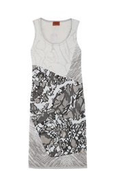 Missoni Marble Tank Dress White
