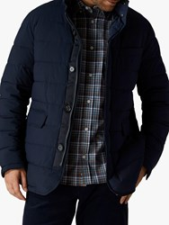 Jaeger Quilted Jacket Navy