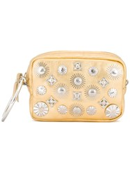 Toga Studded Clutch Metallic