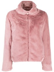 Save The Duck Fury9 Reversible Bomber Jacket Pink