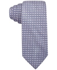 Vince Camuto Men's Sisto Slim Geo Tie Purple