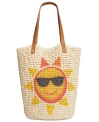 Styleandco. Style And Co. Sun Straw Beach Tote Only At Macy's