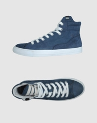 Forfex High Top Sneakers Slate Blue