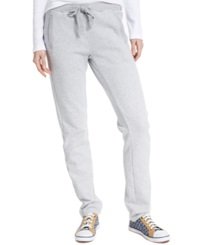 Tommy Hilfiger Drawstring Fleece Sweatpants Grey Heather
