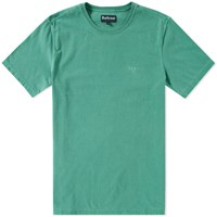 Barbour Garment Dyed Tee Green