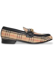 Burberry The 1983 Check Link Loafer Neutrals