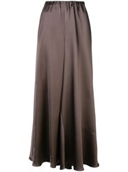 Peter Cohen Wide Palazzo Trousers Brown