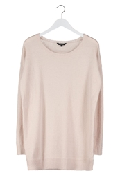 Mbym Jumper Cream Tan Pink