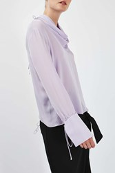 Boutique Insert Drape Blouse By Lilac