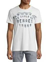 Sol Angeles Heroes Crewneck T Shirt White