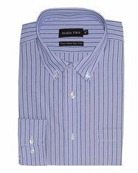 Double Two Formal Shirt Lilac