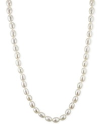 Honora Style Cultured Freshwater Pearl Strand In Sterling Silver 7 8Mm