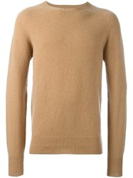 Ymc Crew Neck Pullover Nude And Neutrals