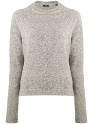 Aspesi Fine Knit Sweater Neutrals
