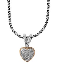 Effy Diamond 18K Yellow Goldplated Sterling Silver Necklace