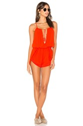 Heartloom Molly Romper Red
