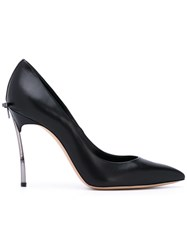 Casadei Pointed Toe Pumps Women Calf Leather Leather Nappa Leather 36.5 Black
