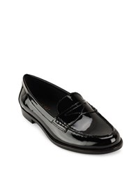Lauren Ralph Lauren Barrett Patent Leather Loafers Black