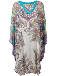 Etro V Neck Printed Tunic