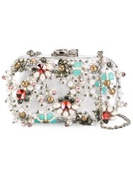 Corto Moltedo Susan C Star Clutch Bag Metallic