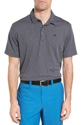 Travis Mathew Men's Hogsty Trim Fit Wrinkle Resistant Polo