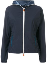 Save The Duck Light Zip Up Jacket Blue